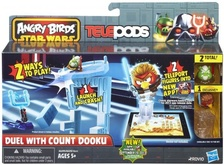 Angry Birds Star Wars TelePods Duel with Count Dooku Set