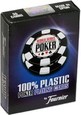Карты для покера Fournier World Series of Poker Blue пластиковые