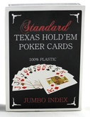 Карты для покера Texas Holdem Jumbo Index Красные
