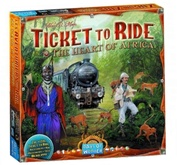 Ticket to Ride The Heart of Africa (на английском языке)