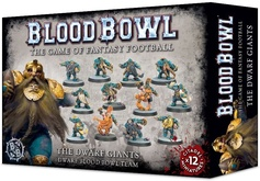 Warhammer. Blood Bowl: The Dwarf Giants Team Акция!