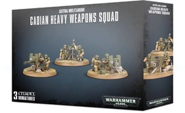 Игра Warhammer 40,000 Astra Militarum: Cadian Heavy weapon squad Акция!