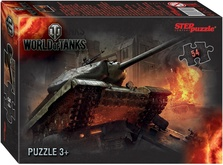 Пазл World of Tanks Серый 54