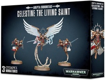 Warhammer 40,000. Adepta Sororitas Celestine the living saint Акция!