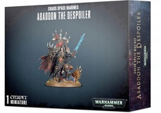Warhammer 40,000. Chaos Space Marines Abaddon the Despoiler Акция!