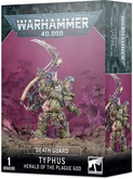 Warhammer 40,000. Death Guard: Typhus Herald of the Plague God Акция!