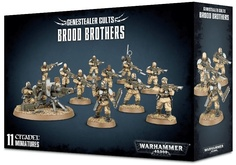 Warhammer 40,000. Genestealer Cults Brood Brothers Акция!