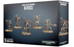 Warhammer 40,000 Миниатюры: Chaos Space Marines Havocs