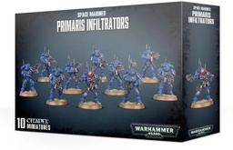 Warhammer 40,000 Миниатюры: Space Marines Primaris Infiltrators Акция!