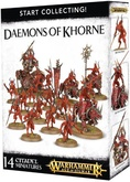 Warhammer 40,000 Миниатюры: Start Collecting! Daemons of Khorne Акция!