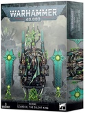 Warhammer 40,000. Necrons Szarekh The Silent King Акция!
