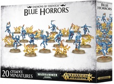 Warhammer. Age of Sigmar. Daemons of Tzeentch Blue Horrors Акция!