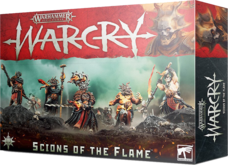 Warhammer. Age of Sigmar.WarCry: Scions Of The Flame Акция!