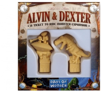 Ticket to Ride: The Monster Expansion Alvin & Dexter
