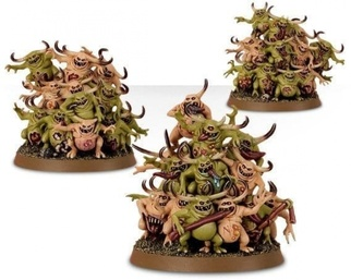 Warhammer 40,000 Миниатюры: Start Collecting! Deamons of Nurgle