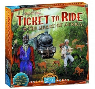 Ticket to Ride The Heart of Africa Дополнение (на английском языке)